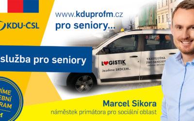 Taxislužba pro seniory již jezdí